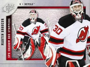 Martin Brodeur Spx Shadow Box Stoppers Insert