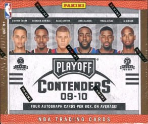 09/10 Panini Playoff Contenders Basketball Box