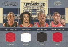 2009/10 Panini Timeless Treasures NBA Appretice Quad