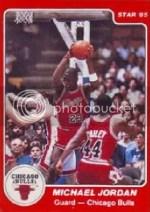 1984/85 Star Michael Jordan XRC Rookie Card