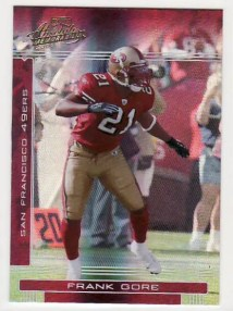2006 Playoff Absolute Memorabilia Frank Gore #129