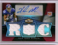 Hakeem Nicks 2009 Topps Triple Threads RC