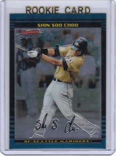2002 BOWMAN CHROME DRAFT #BDP162 Shin Soo Choo