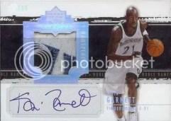 Kevin Garnett Exquisite Patch Autograph