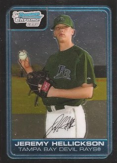 Jeremy Hellickson Bowman Chrome RC