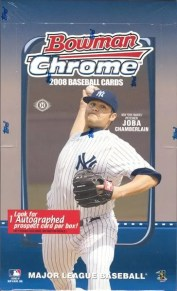 2008 Bowman Chrome Hobby Box