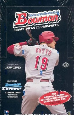 2008 Bowman Chrome Draft Pick & Prospects Baseball Box