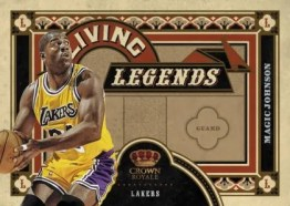 2009/10 Panini Crown Royale Living Legends Magic Johnson