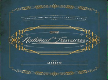 2009 Playoff National Treasures Football Hobby Box Preview