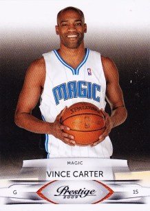 Vince Carter 2009/10 Panini Prestige Basketball Card