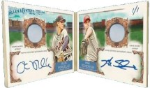 Rick Porcello Max Scherzer Topps Allen & Ginter Book Card