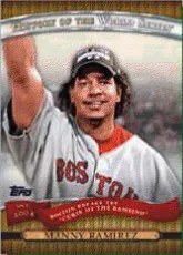 2010 Topps 2 Manny Ramirez History of World Series Card