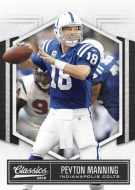 2010 Panini Classics Peyton Manning Base Card