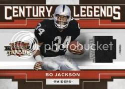 2010 Panini Threads Century Legends Bo Jackson