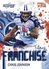 2010 Score Chris Johnson Franchise Insert