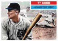 2010 Topps Series 2 Ty Cobb Vintage Legends Card