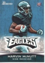 2012 Bowman Marvin McNutt Eagles Base RC