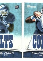 2012 Bowman Dwayne Allen Rookie RC Card Variation