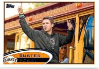2012 Topps Series 2 Buster Posey Sp Variation Card