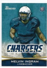 2012 Bowman Melvin Ingram Rookie
