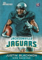 2012 Bowman Justin Blackmon Base RC Card