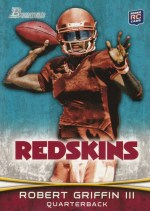 2012 Bowman Robert Griffin III Base RC Card