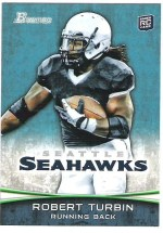 2012 Bowman Robert Turbin RC