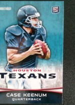 2012 Bowman Case Keenum Base Variation Card