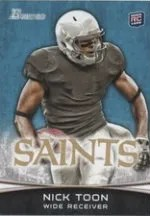 2012 Bowman Nick Toon Variation Card