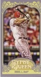 2012 Topps Gypsy Queen Jay Bruce Mini Sp