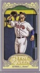 2012 Topps Gypsy Queen Jason Heyward Mini Sp