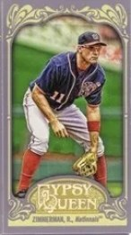 2012 Topps Gypsy Queen Ryan Zimmerman Mini Sp