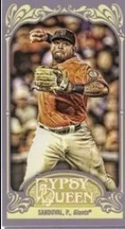 2012 Topps Gypsy Queen Pablo Sandoval Mini