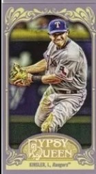 2012 Topps Gypsy Queen Ian Kinsler Mini Sp