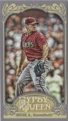 2012 Topps Gypsy Queen Daniel Hudson Mini