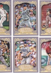 2012 Topps Gypsy Queen Ian Kennedy Sp Variation