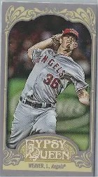 2012 Topps Gypsy Queen Weaver Base Mini