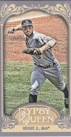 2012 Topps Gypsy Queen David Wright Mini