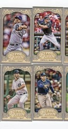 2012 Topps Gypsy Queen Yovani Gallardo Mini