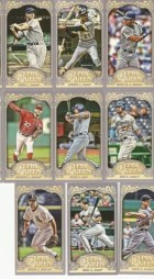 2012 Topps Gypsy Queen Victor Martinez Mini Sp