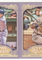 2012 Topps Gypsy Queen Curtis Granderson Base