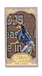2012 Topps Gypsy Queen Ryan Braun Mini Sp