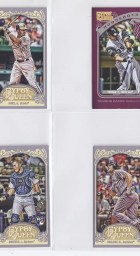 2012 Topps Gypsy Queen Matt Holliday Mini Sp
