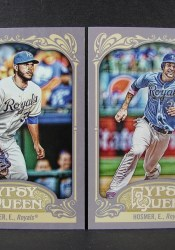 2012 Topps Gypsy Queen Eric Hosmer RC Base