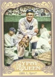 2012 Topps Gypsy Queen Ty Cobb Sp Variation