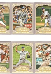 2012 Topps Gypsy Queen Clayton Kershaw Base