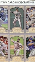 2012 Topps Gypsy Queen James Shields Mini Sp