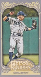 2012 Topps Gypsy Queen Ichiro Mini Card Sp