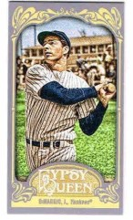 2012 Topps Gypsy Queen Joe DiMaggio Sp Mini