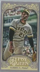 2012 Topps Gypsy Queen Roberto Clemente Mini Base